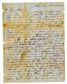 W W Ware letter to Will Killirew, contains letter from Mary E Ware to Vilet Ware, 22 December 1850