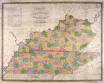 Map of Kentucky and Tennessee...