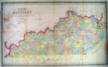 Railway Map of Kentucky...
