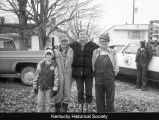 Chris, Fay, David, and Ray Rogerson on the family farm, Paducah, Ky.
