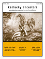 Kentucky Ancestors Vol 40 No 1