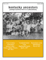 Kentucky Ancestors Vol 41 No 1