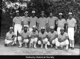 The Mighty Brickhouse, winners of the Tuesday night recreation Men's League championship in 1982.