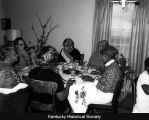 Fannie Turner's dinner for friends at her home on Missouri Avenue in the 1960s.